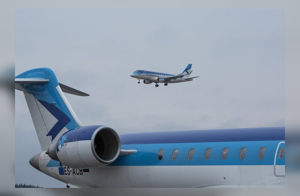 Estonian Airi reisijate arv püsis stabiilne.
