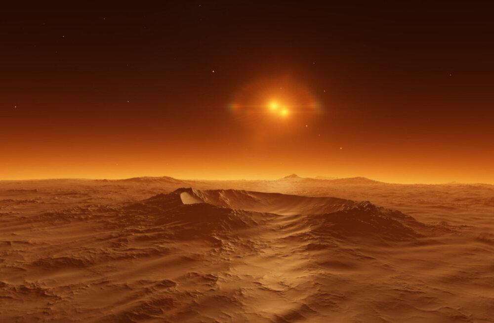 Marsi muistne jõgi voolas sada tuhat aastat