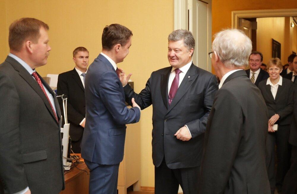 Petro Porošenko riigikogus