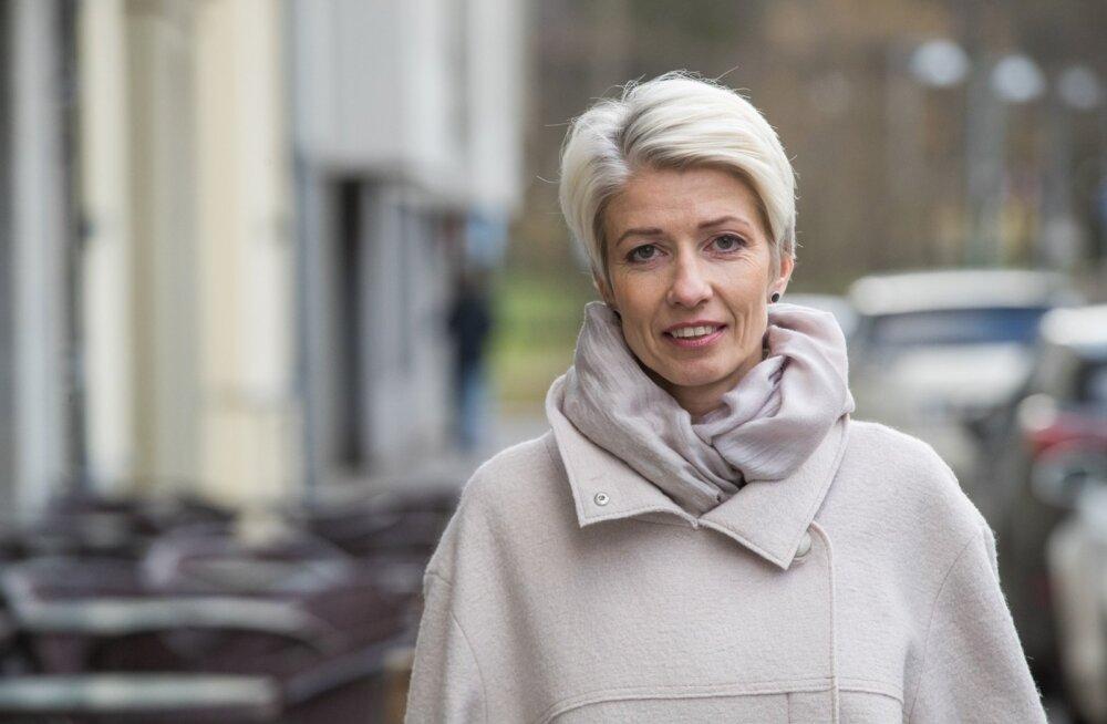 HKScan Estonia juhatuse esimees Anne Mere.