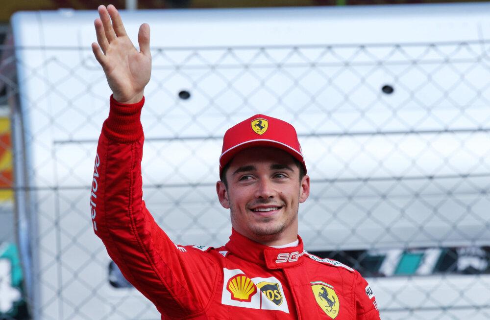 Kummaliselt lõppenud Itaalia GP kvalifikatsiooni võitis Leclerc, Räikkönen sõitis rajalt välja