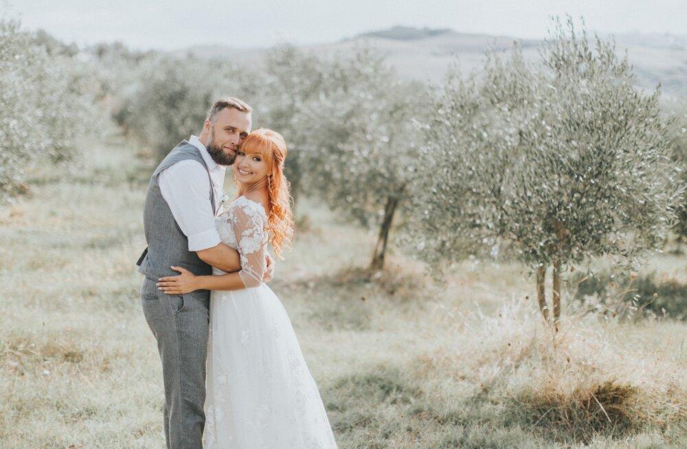 SUUR PILDIGALERII! Tanja ja Mikk Saare pulm imelises Itaalias!