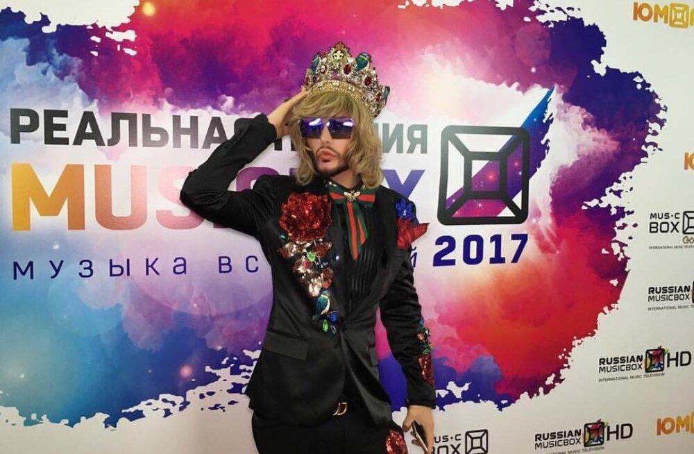 ВИДЕО: Сергей Зверев готовится к концерту в Таллинне