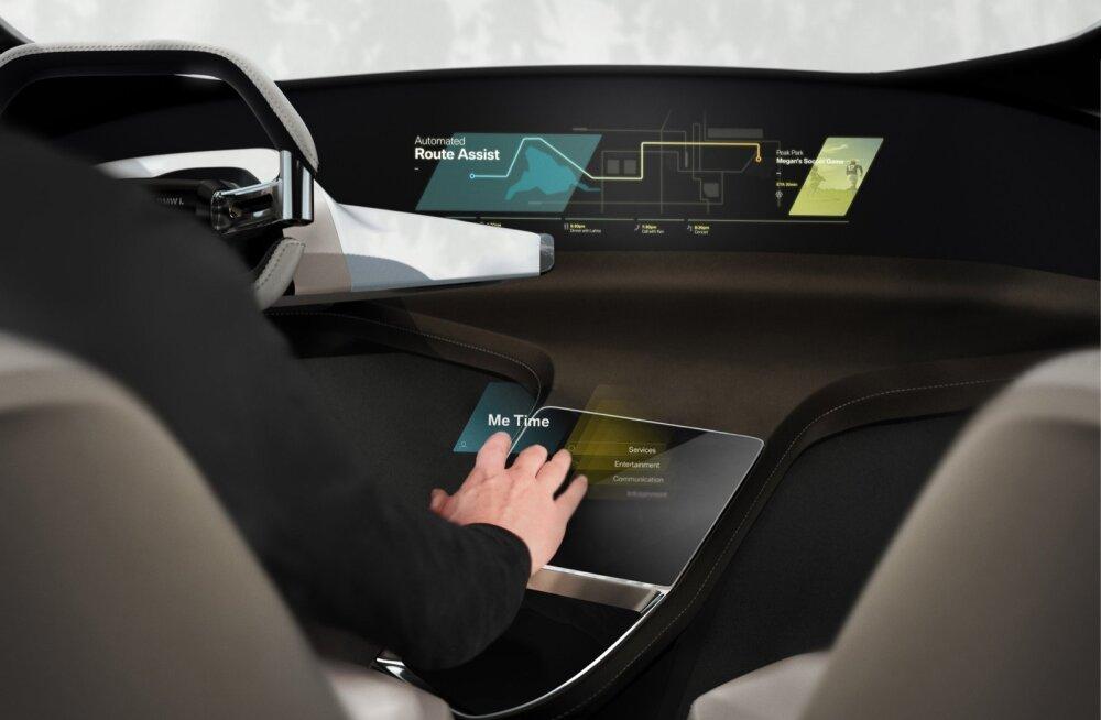 BMW tutvustab juba sel nädalavahetusel laiemale avalikkusele holoaktiivset puute-ekraani.