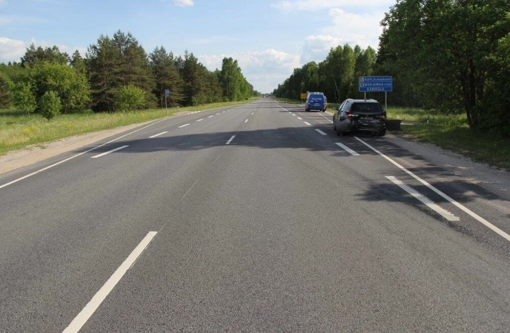 Tundmatu sõiduk põhjustas eile Kernu vallas Harjumaa ja Raplamaa piiril õnnetuse ja lahkus sündmuskohalt