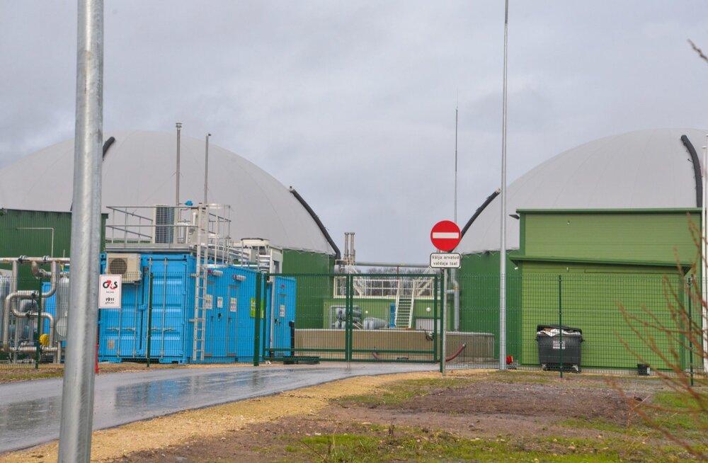 Biometaanijaam Koksvere külas