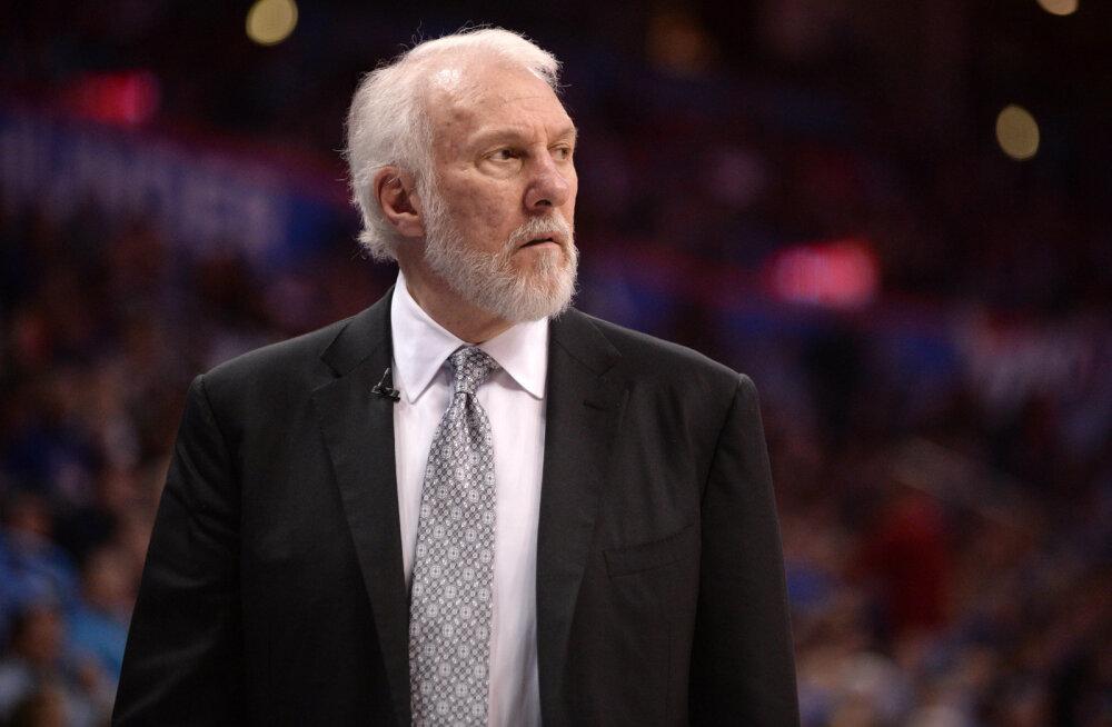 San Antonio Spursi tabas keset play-off seeriat traagiline kaotus