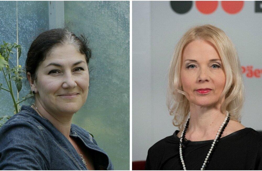 Maria Kaljuste ja Monika Helme