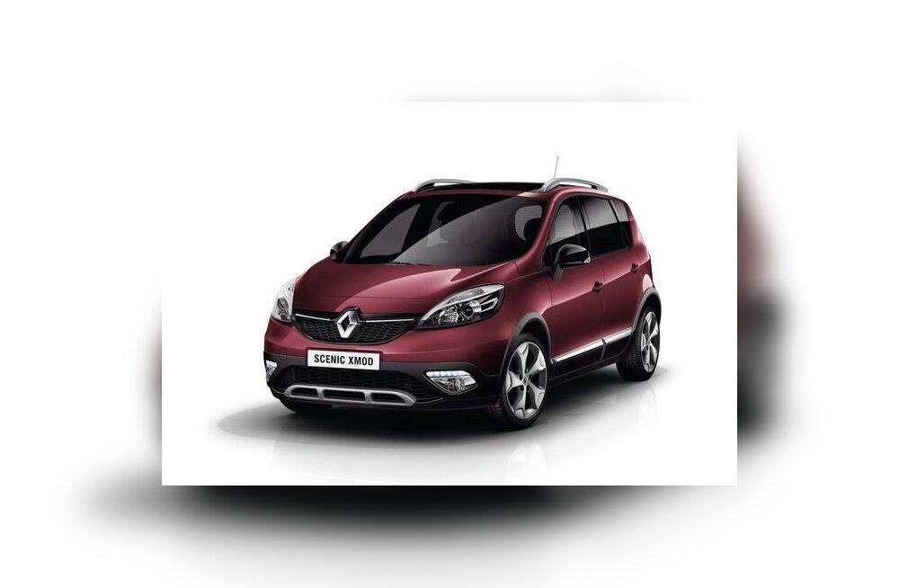 Renault Scenic XMOD näitab end Genfis