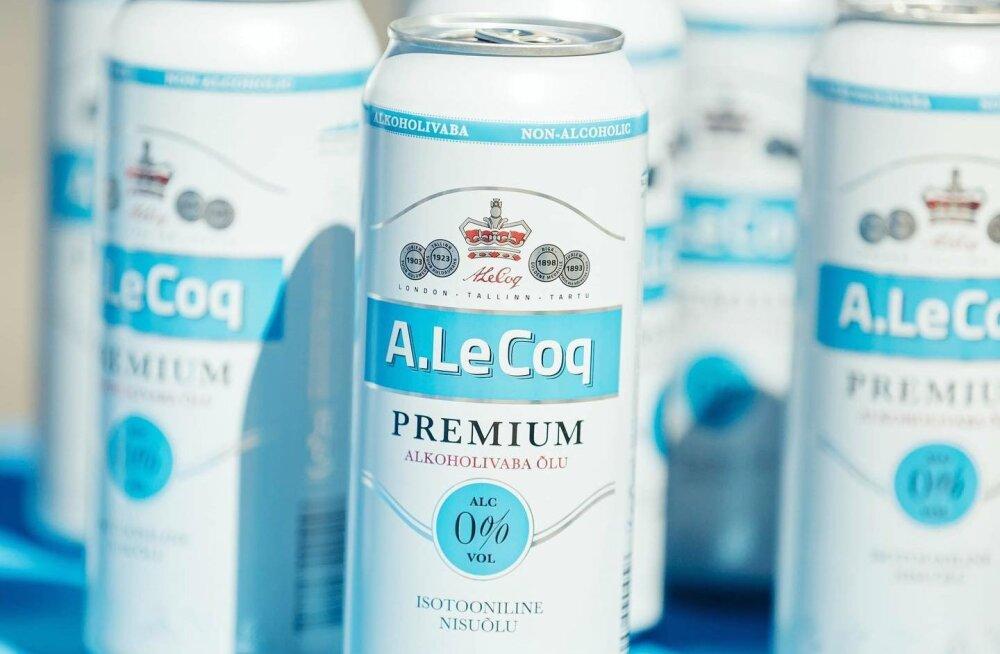 Tallinna maratoni joogivalikusse lisandub esimest korda alkoholivaba õlu