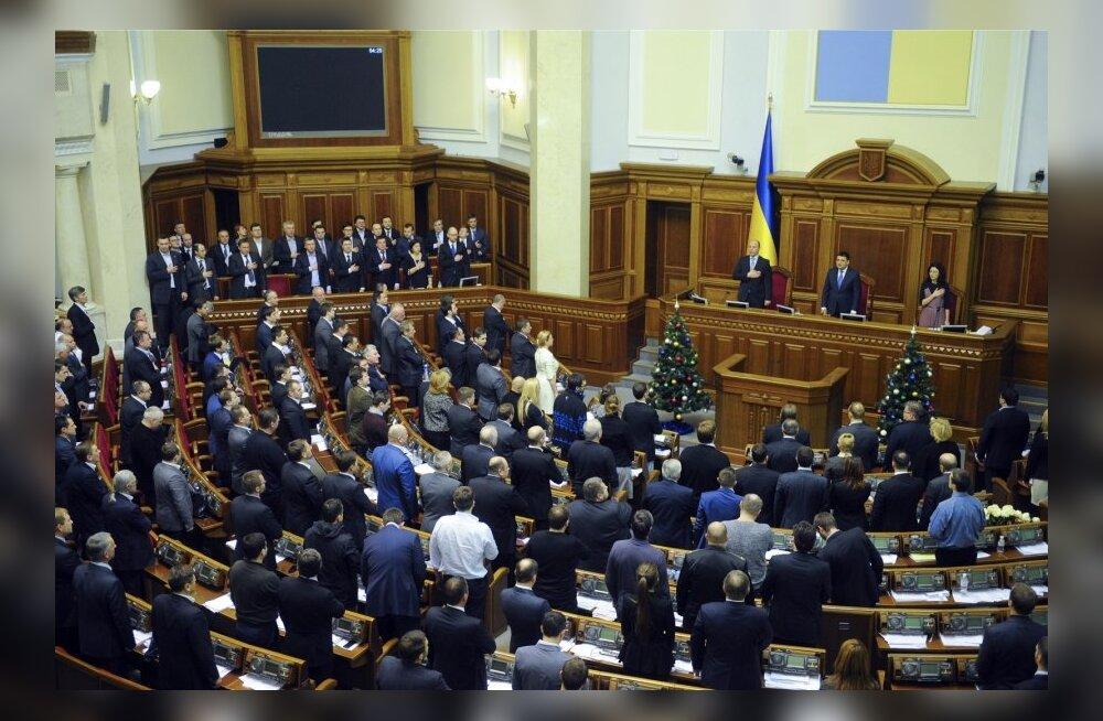 """Ukraina ülemraada kuulutas Venemaa agressorriigiks ning """"rahvavabariigid"""" terroriorganisatsioonideks"""