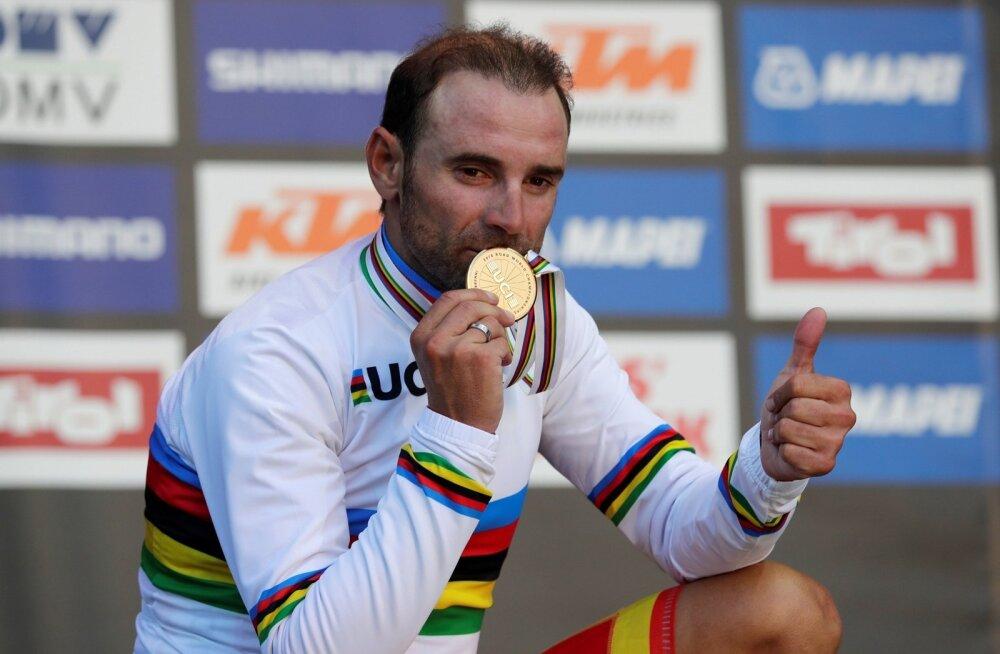 Grupisõidu maailmameister Alejandro Valverde