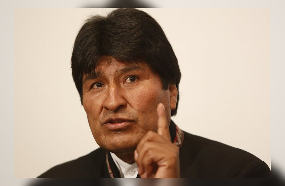 """Boliivia president on peaaegu kindel, et """"Impeerium"""" mürgitas Chávezi"""
