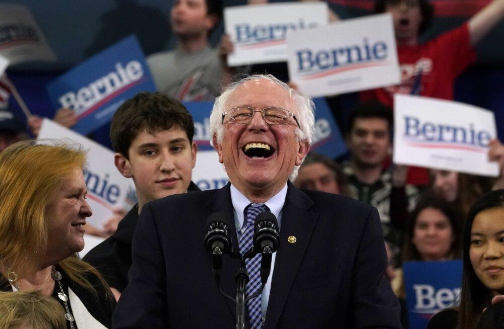 Demokraatide New Hampshire´i eelvalimised võitis napilt Bernie Sanders