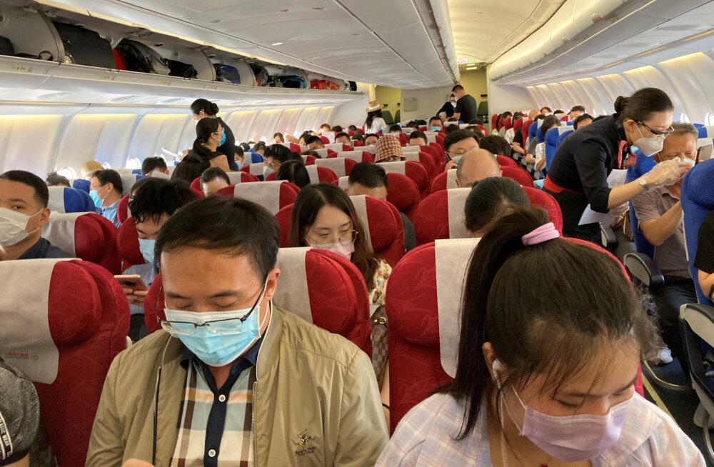 Новые правила ЕС требуют носить защитную маску на протяжении всего полета