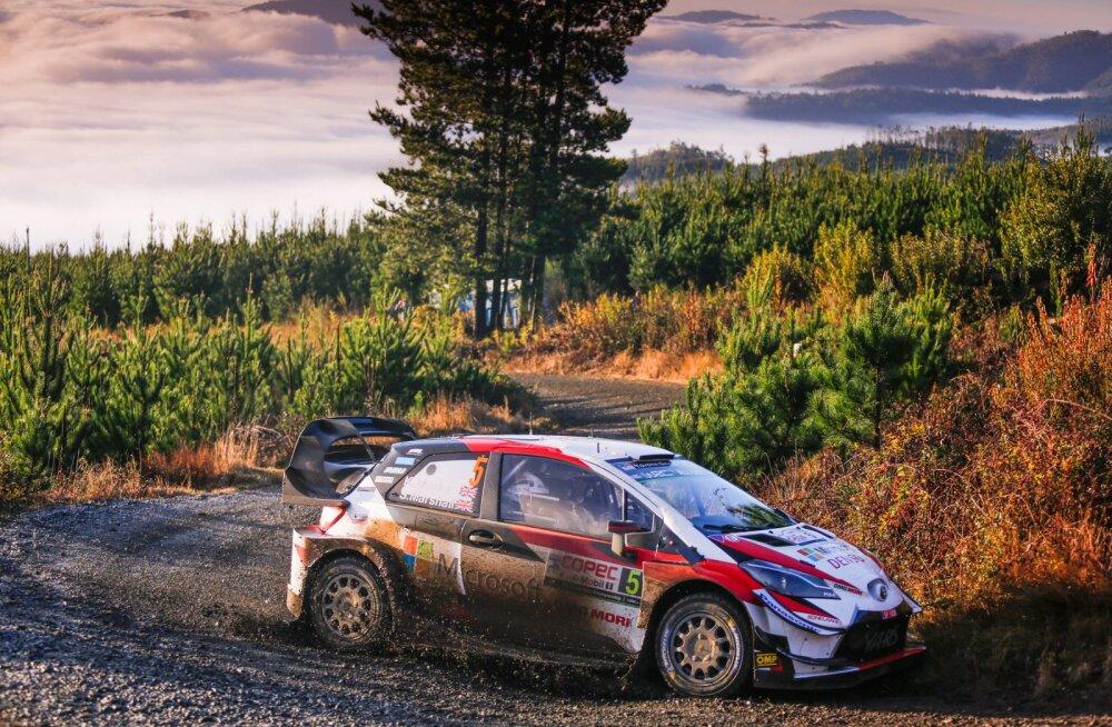 VIDEO | Millise WRC hooaja vahekokkuvõtte edetabeli tipus troonib Kris Meeke?