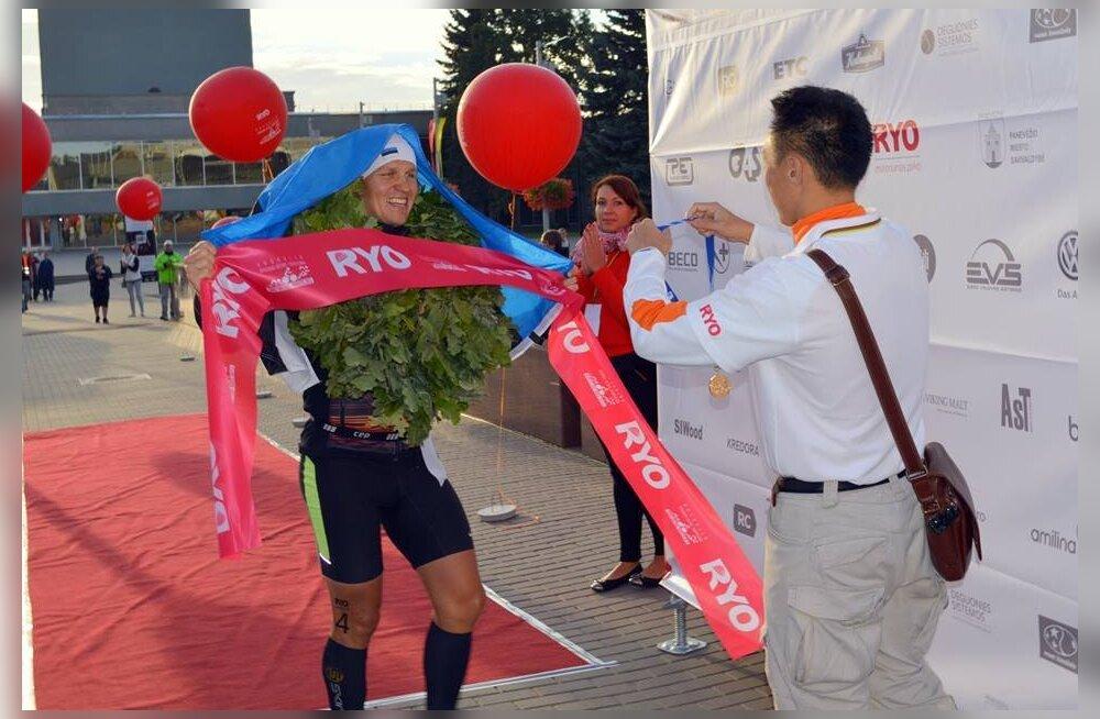 Ultratriatleet Rait Ratasepp võitis Leedus karjääri teise MK-etapi