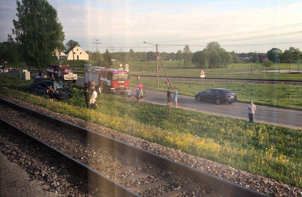 Tamsalus toimus avarii.