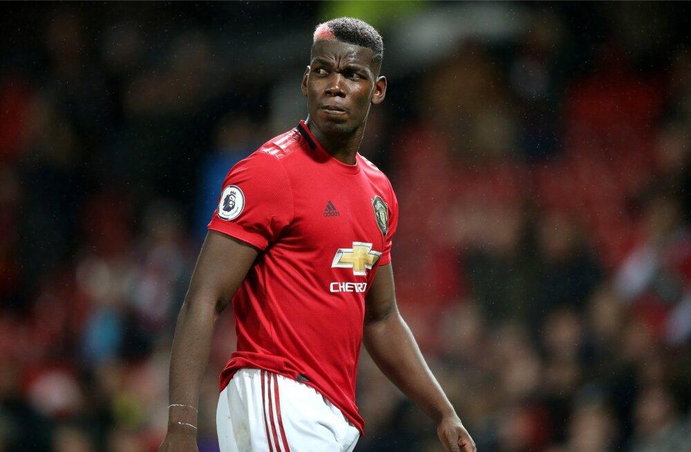 Paul Pogba kandmas Manchester Unitedi särki. Praegu ei tea, kas ja millal ta seda järgmisena teeb.