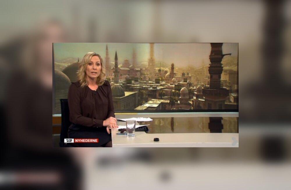 Süüria-teemalist teleuudist ehtis linnafoto asemel pilt videomängust