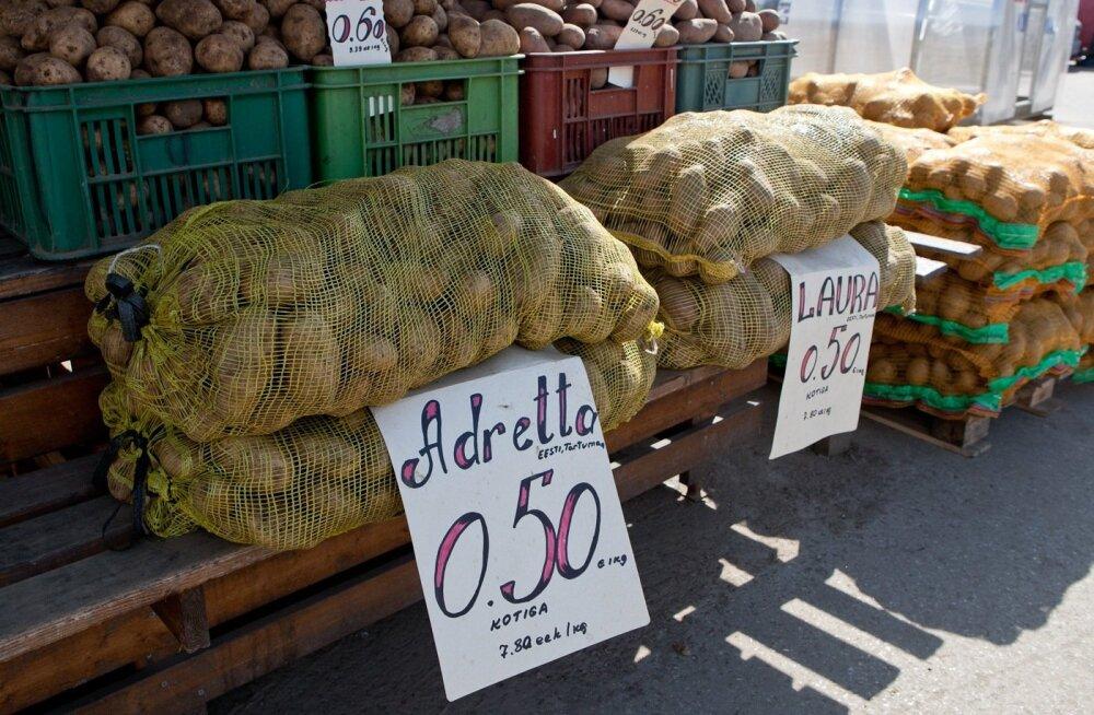 В среду для посетителей откроется обновленный Пярнуский рынок