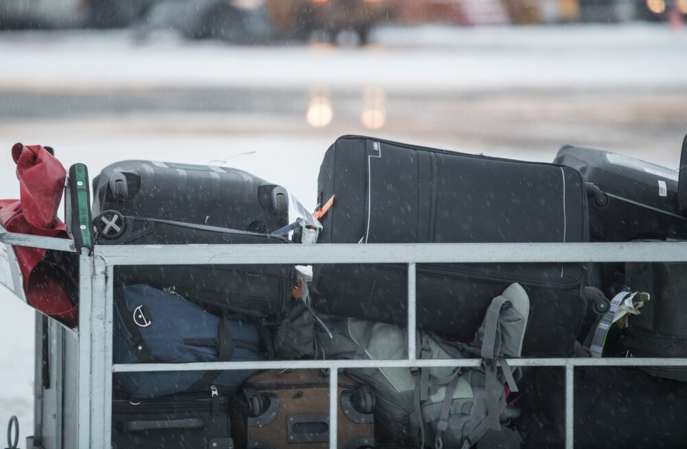Kersti Kaljulaid lennujaamas