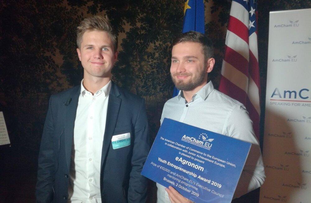 Эстонский стартап завоевал в Европе титул лучшего молодежного предприятия