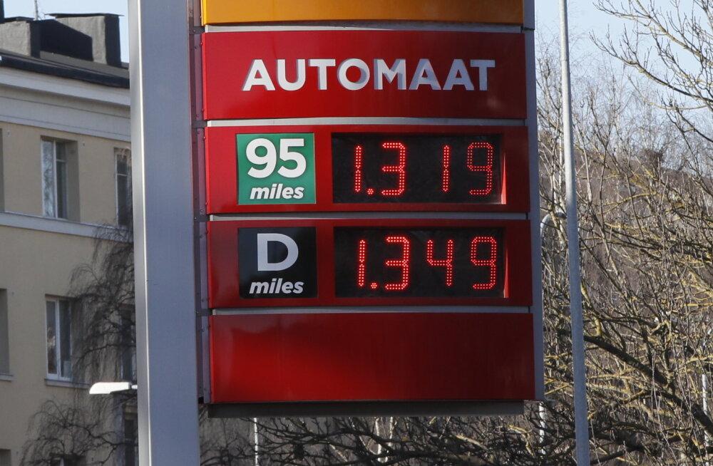 Kütuse hind on selle aasta rekordiline.