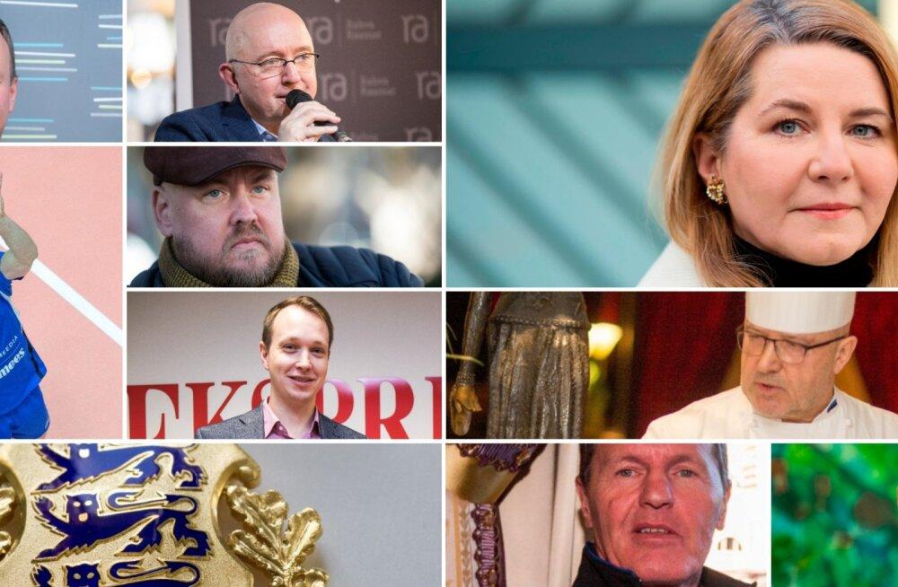 President Kersti Kaljulaid tunnustas teenetemärkidega Eesti eredaimaid teenäitajaid