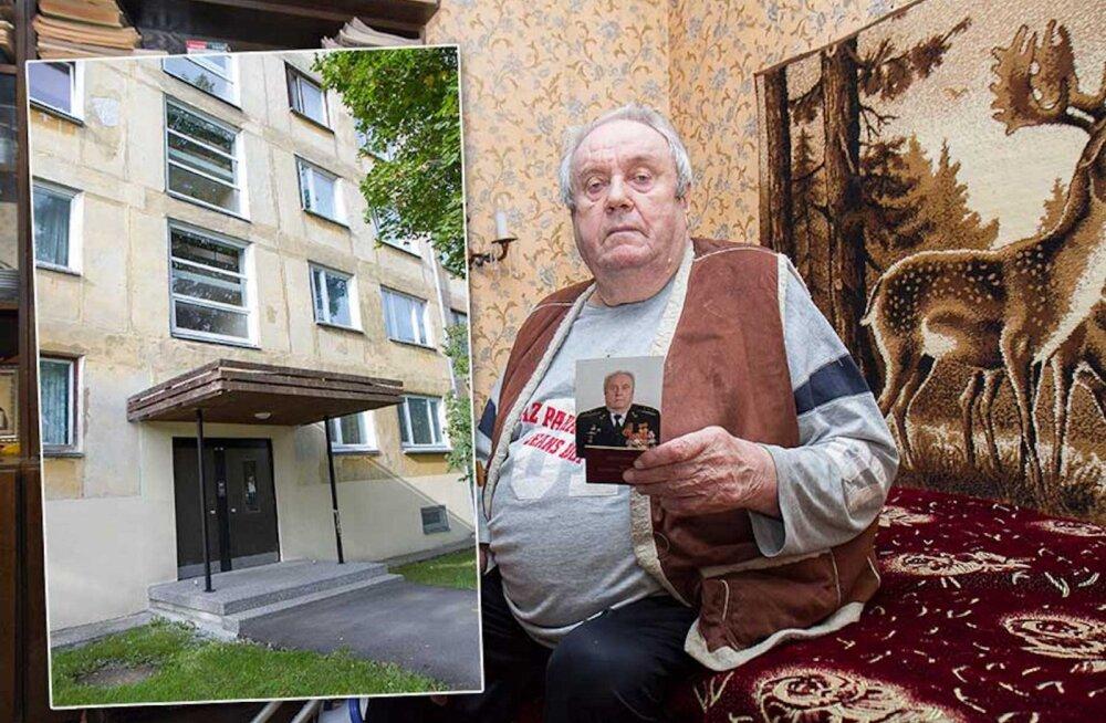 Ветеран ВОВ оказался пленником в собственной квартире, потому что на крыльце нет перил