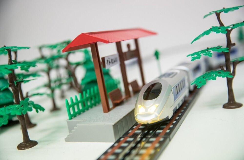 Rail Balticu mängurong
