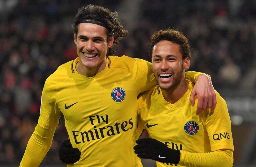 VIDEO | Neymari saldo 4:1 võidumängus: kaks väravat, kaks väravasöötu