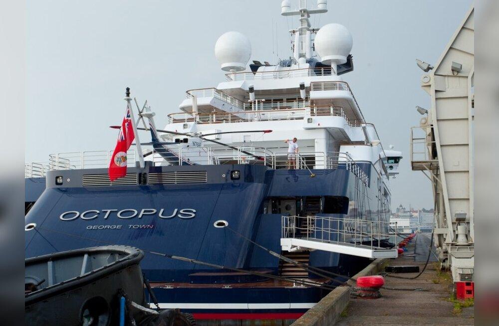 FOTOD: IT-miljardäri luksusjaht Tallinna sadamas