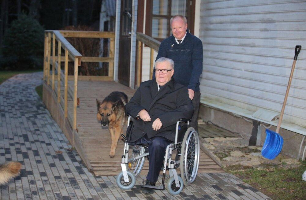 Prokurör: Hundisilma talu ratastooli jaoks kohandanud naabrimehele maksti tööde eest sularahas