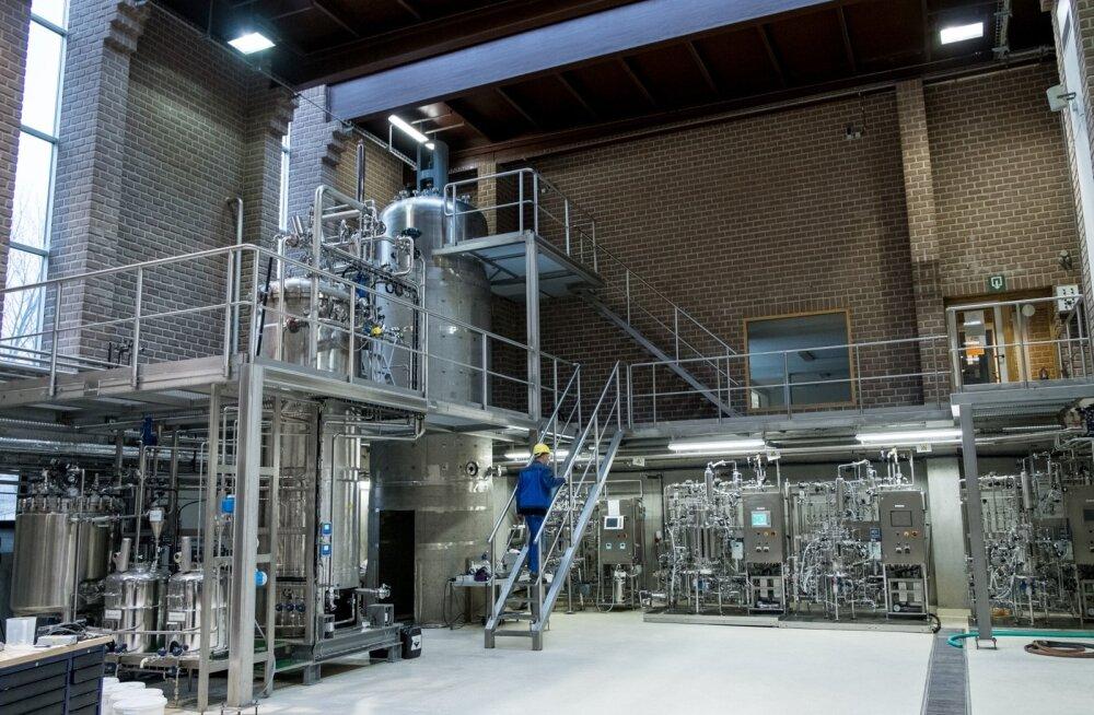 Endises tuletõrjedepoos töötab edukas biotehas.