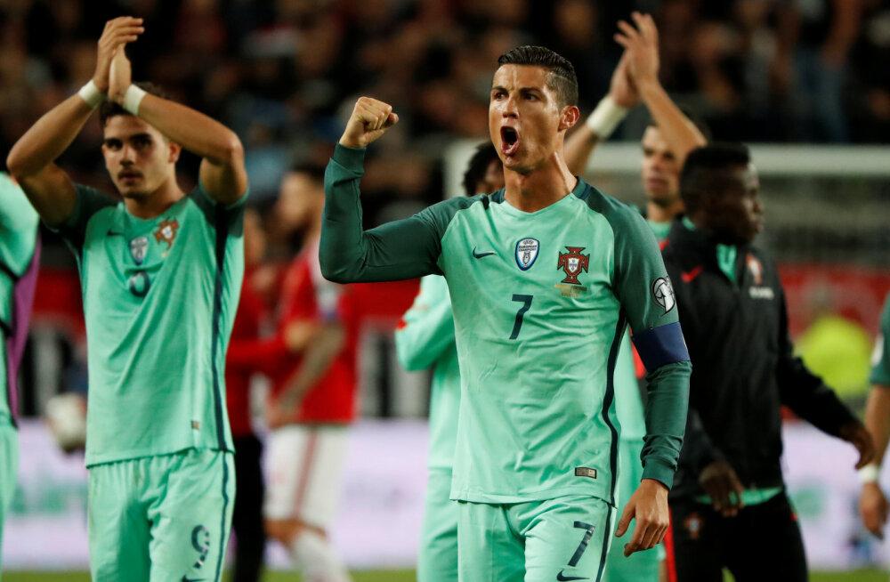32 PÄEVA JALGPALLI MM-ini   Valitsev Euroopa meister Portugal hoiab madalat profiili ega pea end MM-i soosikuks