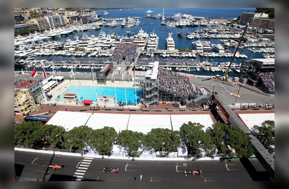 Vormel 1 Monaco GP treeningud