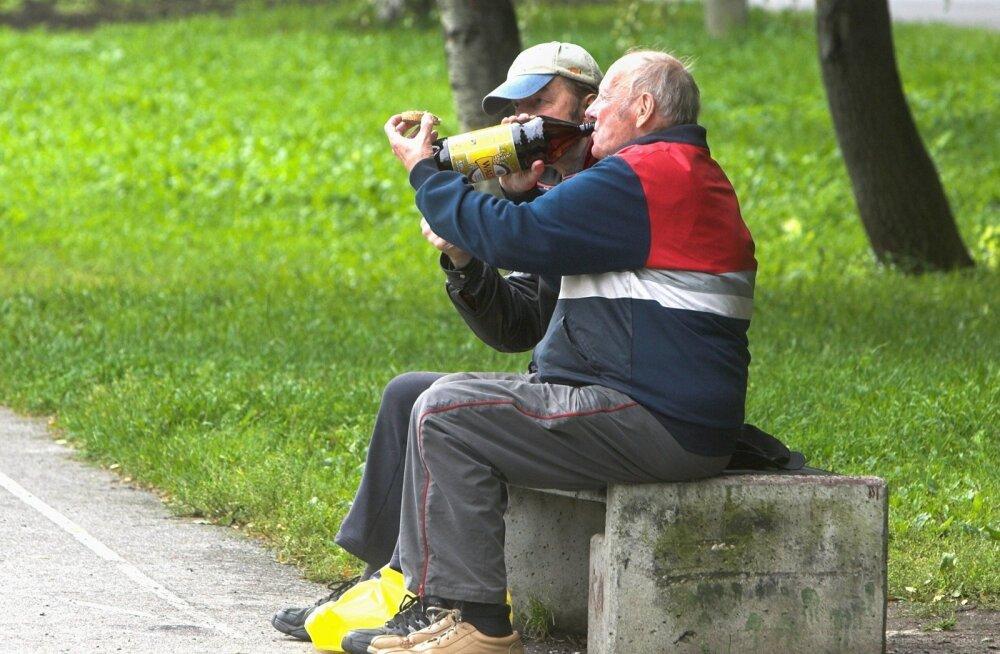 MUSTAMÄE,alkoholi tarvitamine,õlle joomine,