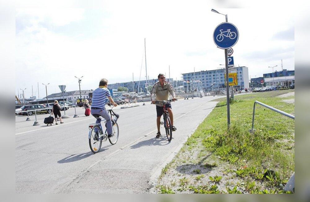 Priit Hõbemägi: Jalgratturitele kergteel kiirusepiirang?
