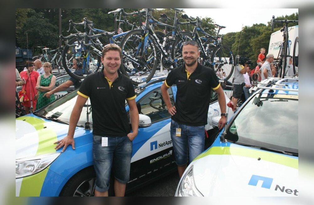Gerd Kodanik (vasakul) ja Risto Usin