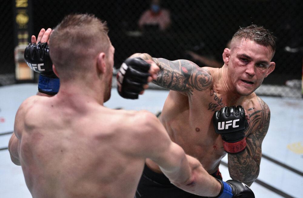 VIDEO | Aasta parim matš? Nurmagomedovile kaotanud UFC-staar naasis ringi ja sai uhke võidu