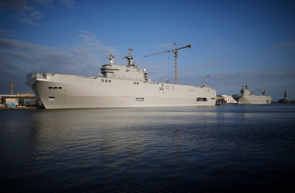 RUSSIA-FRANCE/MISTRAL