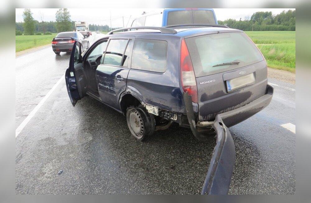 Peatumismärguannet eiranud autojuht