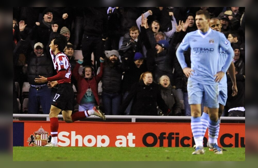 Ji Dong-Woni võiduvärav Manchester City vastu mängu kolmandal üleminutil
