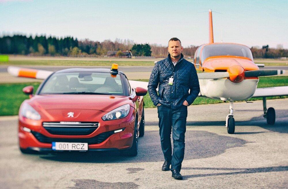 PROOVISÕIT: Piloot kahe prantslasega hoovõturajal - Peugeot RCZ R ja SOCATA TB9