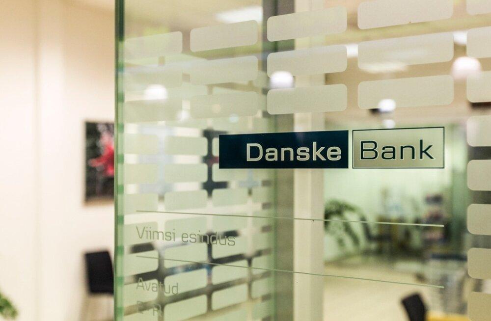 Danske panga Viimsi kontorit, mis 31.märts ehk esimesena kuuest kinni pannakse.  Randvere tee 6, Viimsi