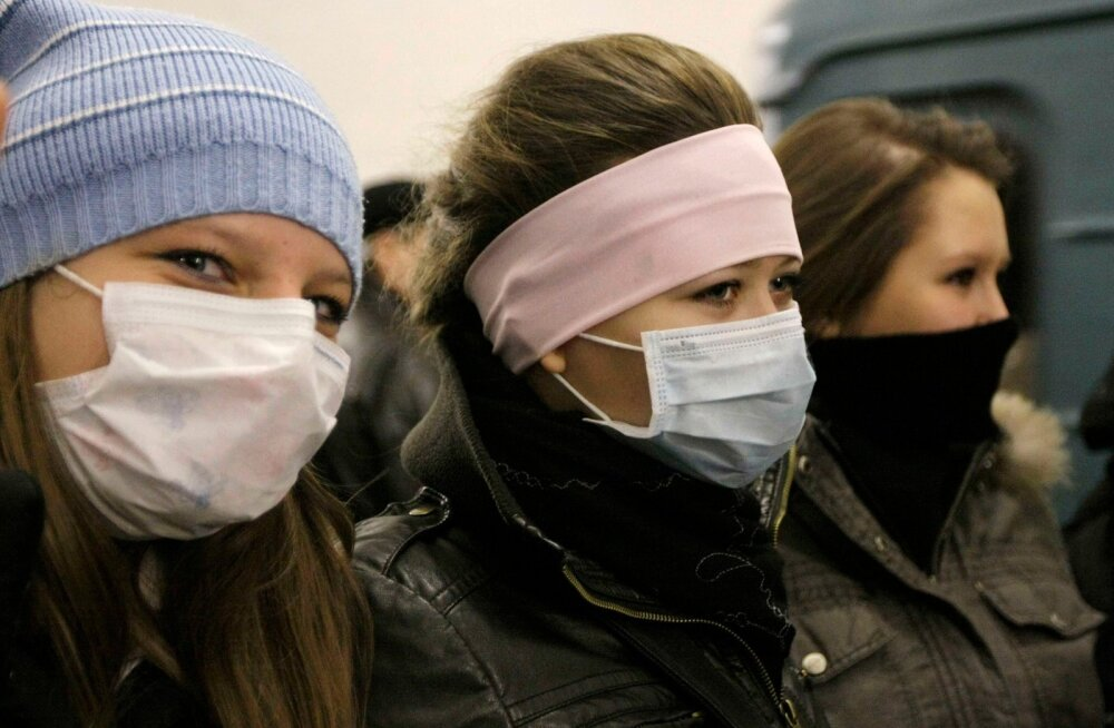 Venemaal levib (sea)gripiepideemia, Peterburis on surnud üle 30 inimese