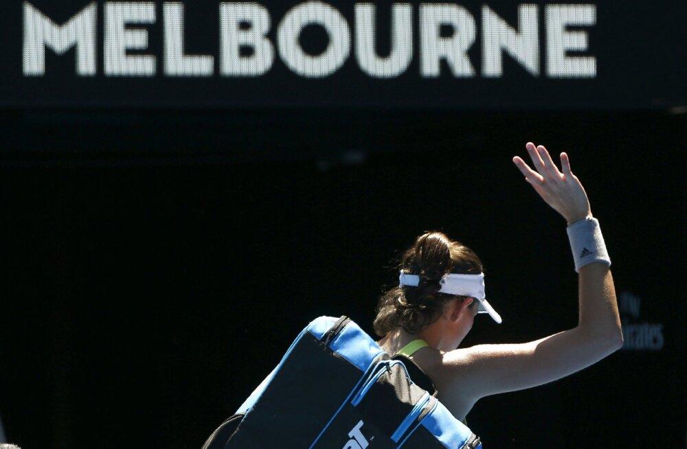 Australian Openi teises ringis lages välja veel kaks suurfavoriiti: üllatajateks maailma 88. ja 123. reket