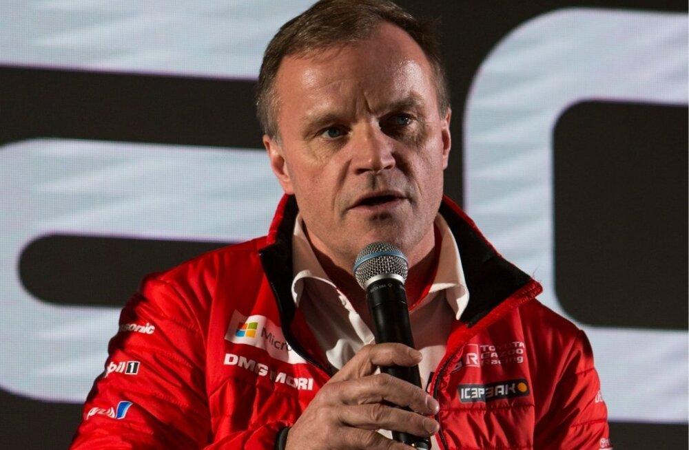 Toyota tiimi boss Tommi Mäkinen.