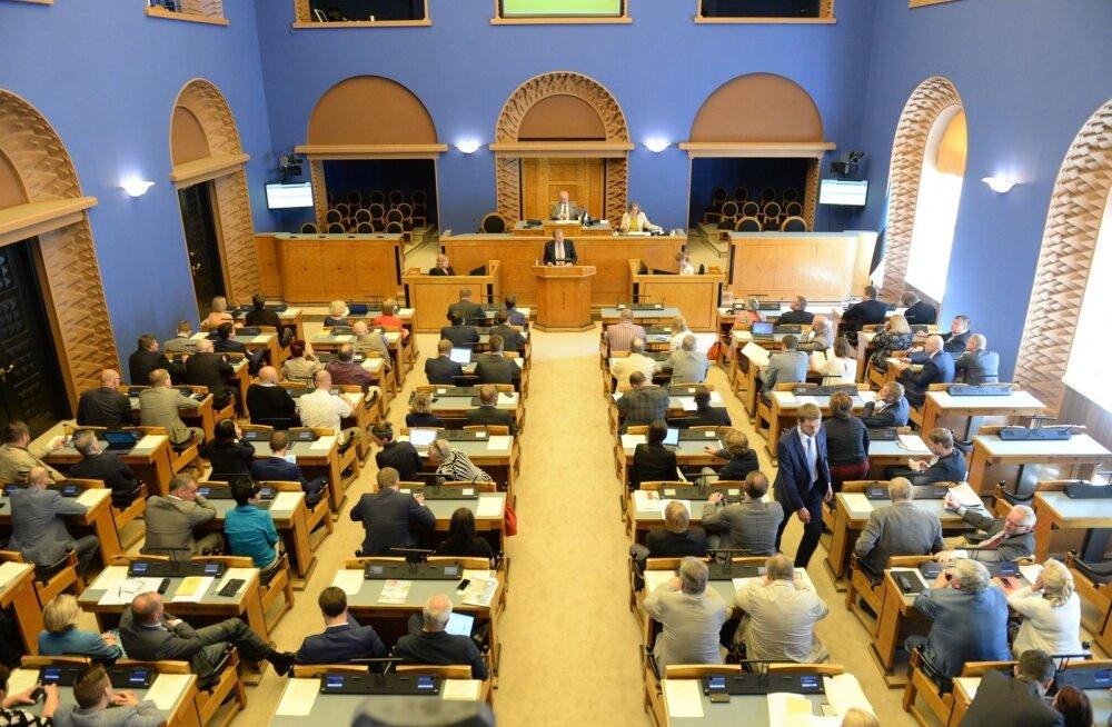 Riigikogu 13. koosseis võttis esimesel istungjärgul vastu 33 õigusakti